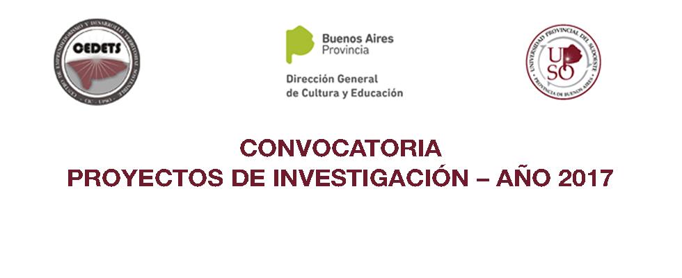 Convocatoria proyectos de investigacion upso cedets 2017 for Convocatoria de docentes 2017