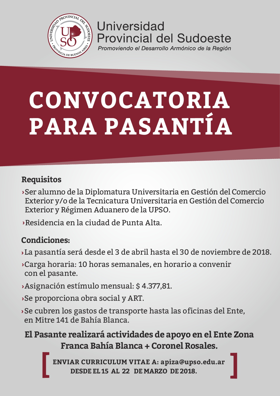 Contemporáneo Estudiante Universitario, Curriculum Vitae, Muestra ...