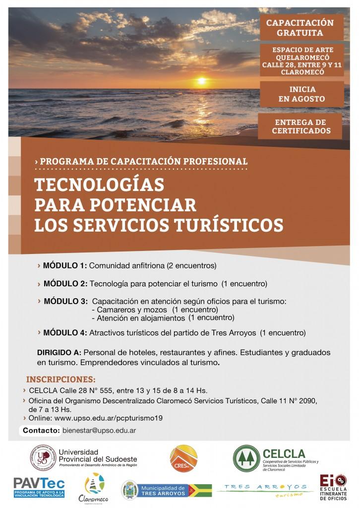 Programa de Capacitación Profesional Tecnologías para potenciar los servicios turísticos Claromeco jpg-01