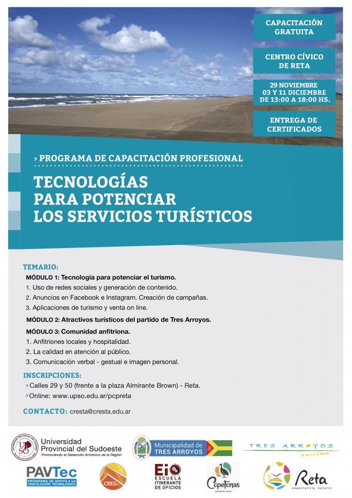 TECNOLOGIAS PARA POTENCIAR LOS SERVICIOS TURISTICOS RETA-01