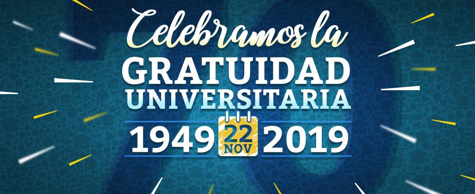 70 Aniversario de la sanción de la gratuidad universitaria en Argentina (1949 – 2019)