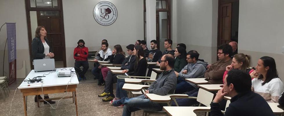 Actividad de difusión PDI en Sedes Pigüé y Coronel Suárez